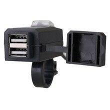Chargeur rapide de moto 5V 3.1A | Adaptateur universel, Port USB 12V, prise d'alimentation, pour téléphone portable