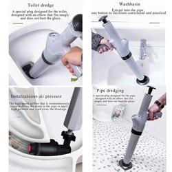 Lucht Afvoer Blaster Klomp Bagger Verstopte Hoge Druk Remover Toilet Plunger Cleaner Pomp voor Bad Toiletten Badkamer
