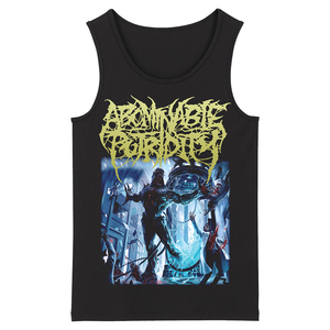 Image 2 - Bloodhoof abominable putridity Hard Metal Deathcore Rock Punk mens top black Tank Tops Asian Size