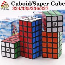 קסם קוביית פאזל WitEden קוביות סופר seriese 334 335 336 337 3x3x4 3x3x5 3x3x6 3x3x7 מקצועי חינוכי צעצועי משחק קוביות