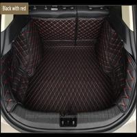 Заказной автомобильный коврик багажника для Volkswagen все модели vw Polo Golf 7 Tiguan Touran Jetta CC beetle vw custom cargo liner