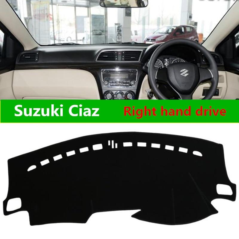TAIJS car dashboard cover For Suzuki Ciaz Right-hand drive Dust-resistant avoid light car dashboard pat mat for Suzuki Ciaz электросамокат pat drive s