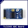 Плата TLC1543 ADC  10-битная плата AD  встроенный конденсатор  аналоговый в цифровой преобразователь  комплект для разработки модуля