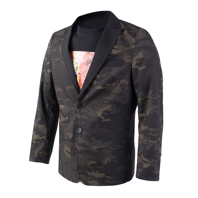 2019 NEW MEN MCBK Suit Tactical Suit Multicam Black Suit