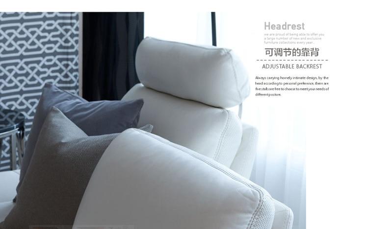 sofá de cuero real sala de estar seccional sofá esquina muebles - Mueble - foto 5