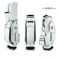 Golf Travel Bag Wheels Stand caddy airbag flight aviation aircraft 8 Divisions Golf Cart Bag