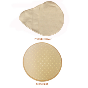 Image 5 - Silicone Breast Form Supports Artificial Spiral Silicone Chest Fake False Breast Prosthesis 150g 500g Super Soft Sponge Pad D30