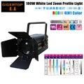 TIPTOP TP-016 180W RGBW 4IN1 COB LED Zoom Studio Light American DJ Mega Par Profile Plus LED Aluminum Par Can Wash Effect Light