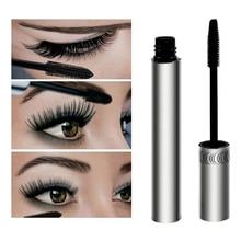 Brand New Black Eye Mascara Long Eyelash Silicone Brush Curving Lengthening Mascara Waterproof Makeup
