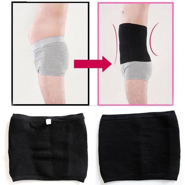 Slimming Belt Men Body Shapers Abdomen Fat Burning Control Weight Loss Waist Sweat Tummy Corset Trainer Shapewear Black Beige 3