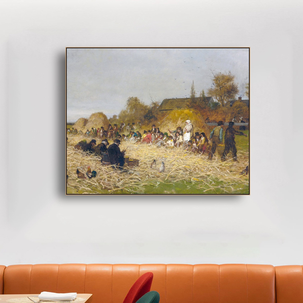 Painter Field Famous Oil Painting Wall Canvas Calligraphy Poster Print Decorative Picture for Living Room Home Decor