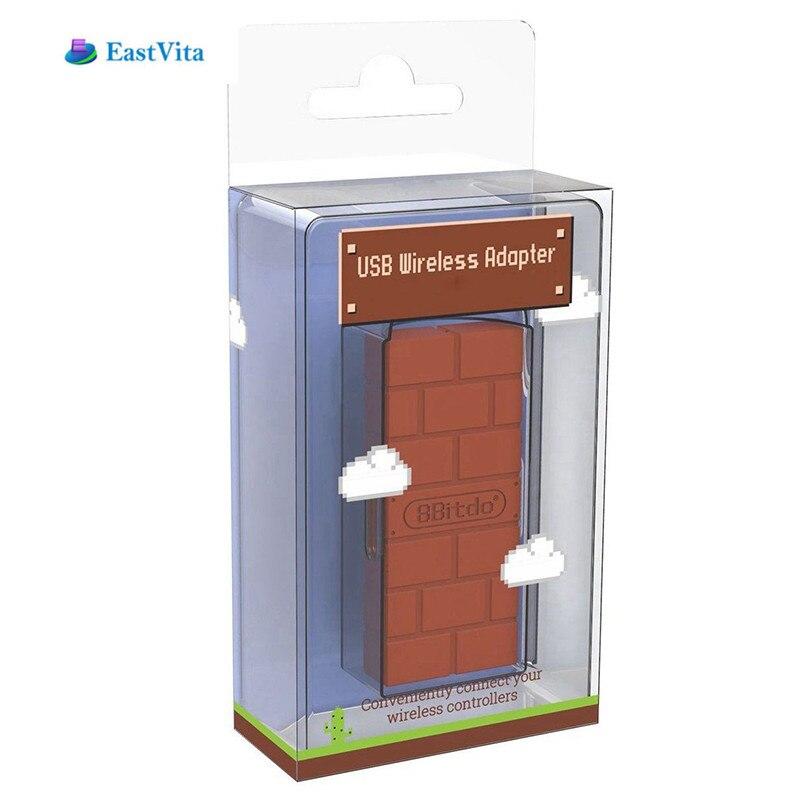 EastVita Tragbare 8 Bitdo USB Wireless Bluetooth Adapter Gamepad Receiver für Windows/Schalter Leichte und kompakte größe r27