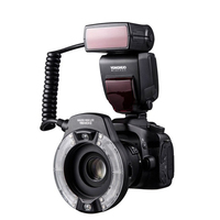 Yongnuo-Anillo de luz LED para Flash, Macro de doble lámpara para Canon 5D4 1DX2 5Dsr 750D 6d2 DSLR, YN14EX II TTL