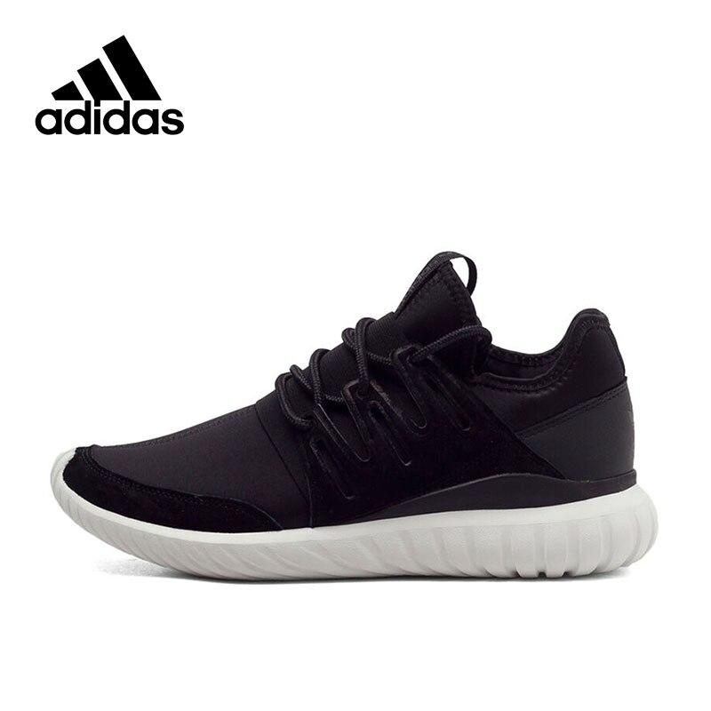 Официальный Новое поступление adidas Originals Tubular Radial унисекс Обувь для скейтбординга Спортивная обувь Classique удобные