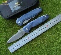 Nighthawk 052 оригинальный S35VN лезвие Titanium ручка Флиппер складной нож Наружный Механизм Тактический кемпинг охотничьи ножи EDC инструменты
