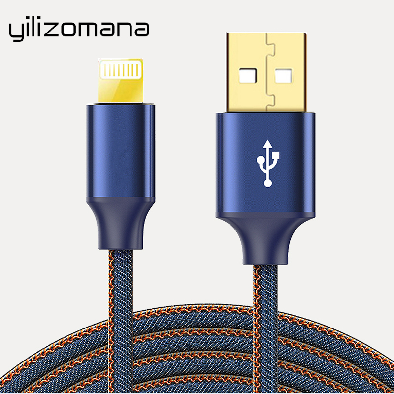 YILIZOMANA USB Cable for iPhone X 8 7 Plus Charging Mobile Phone 5 6 6s iPad Charger