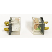 цена на 2 pcs 4 Pin 12V DC 40A relay On-Off Normally Open  transparent With indicator light for Car Boat  RV SPST universally Relay