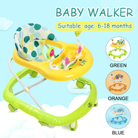 6 18 Months Baby Walker Baby Balance First Steps Walker Kids Toddler Early Educational Trolley Learning To Stand Walker