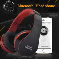 Active Noise Cancelling Bluetooth Headphones Wireless Wired Headset Deep Bass Stereo Headphones With Microphone For Phone