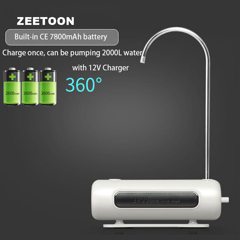 4W Portable Wireless Rechargeable Electric Pump Water Bottle Dispenser Faucet Drink Magic Tap Water Absorber Suction Drinkware