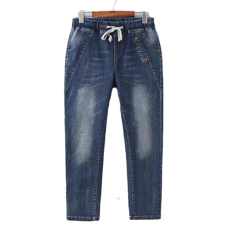 Stretch jeans Woman Plus Size Elastic Dr