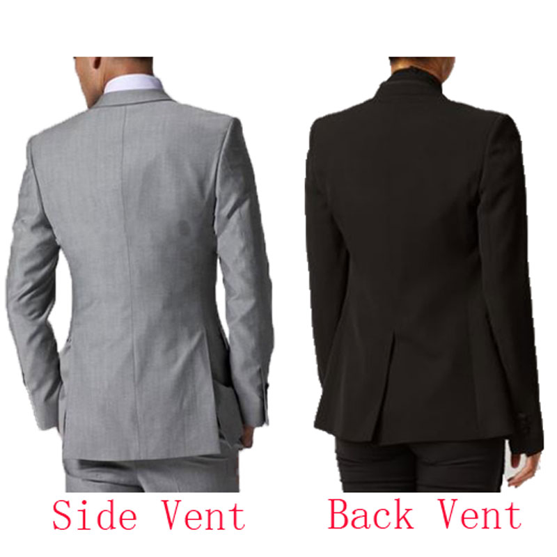 Vintage Navy Blue Tailcoat Men Suits for Wedding Custom Made Groom Tuxedos Man Long Blazer 3Piece Terno Masculino Groomsmen Suit in Suits from Men 39 s Clothing