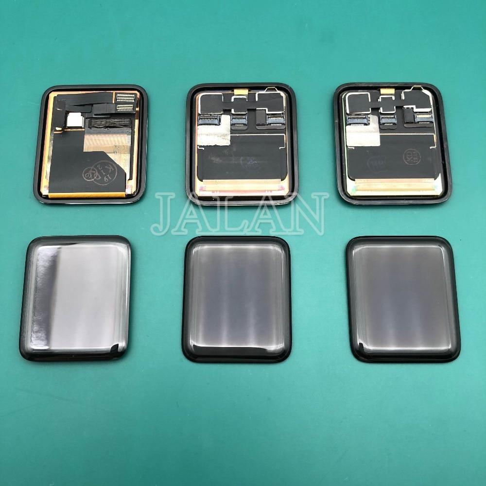 Original nouveau LCD Pour Apple Montre Série 4 3 2 1 38mm/42mm/40mm/ 44mm sapphire Sport verre LTE GPS lcd affichage remplacement
