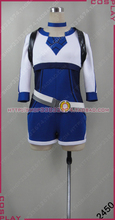 2016 New Anime Hot Go Cosplay Costume The Primary Trainer Clothing In Blue