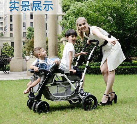 carrinho de crianca titular guarda chuva luz destacavel pode