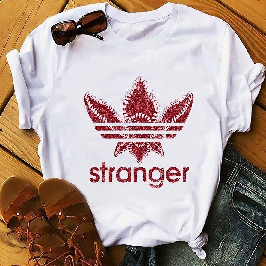 Coisas estranhas onze funny t shirt homens 2019 verão novo branco homme casuais legal moderno t-shirt unisex