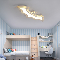 Batman Led Ceiling Lights For Kids Room Bedroom Balcony Home Dec AC85 265V Acrylic Modern Led