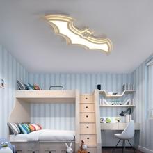 Batman plafonnier led en acrylique, luminaire de plafond, idéal pour la chambre dun enfant, la chambre à coucher ou le balcon dune chambre denfant, Dec AC85 265V, plafond moderne à LEDs