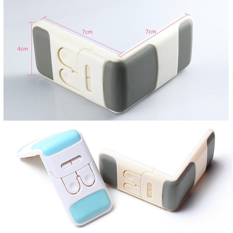 Kahe nupuga lastekinnituslukud ABS-kapi kapide külmkapi ja - Lapse ohutus - Foto 4