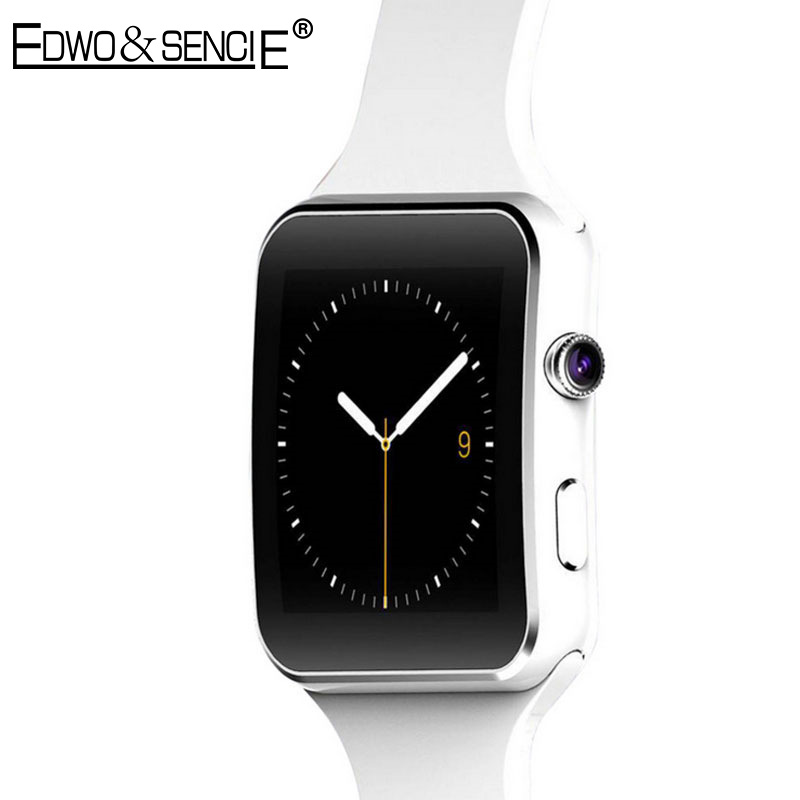 EDWO X6 Bluetooth Smart Watch Android Smartwatch HD Curved Display SIM TF Card Sync Facebook Whatsapp