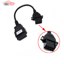 Truck Cable Extension Connector For Volvo 8Pin to OBD2 16Pin Female Fits for Volvo 8 Pin or Volvo 88890306 Vocom