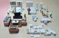 2016 Новинка 1:20 1:25 1:30 1:50 песок стол Модель indoor Мебель Смола Модель украшения модель Керамика модель потепление DIY игрушки Мебель