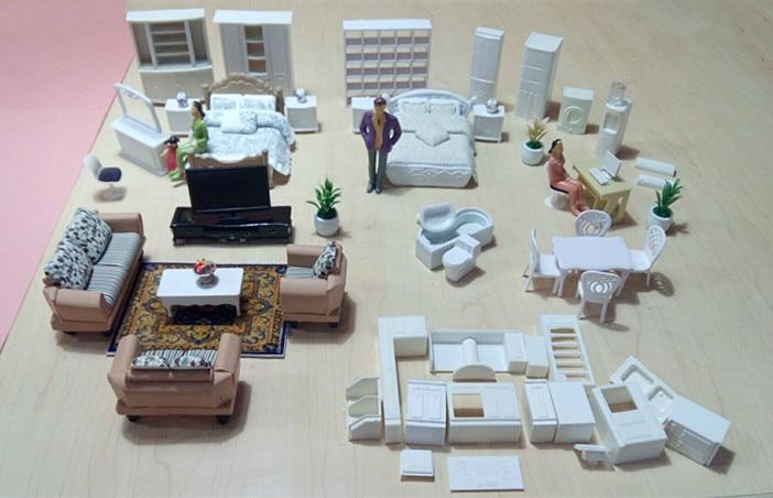 2016 New 1:20 1:25 1:30 1:50 sand table model indoor furniture resin model decoration model Ceramic model DOI DIY toys Furniture gluriya 1 20 30