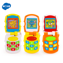 цена Free Shipping Huile Toys 766 Mobile with Music/Light puzzle learning baby toys