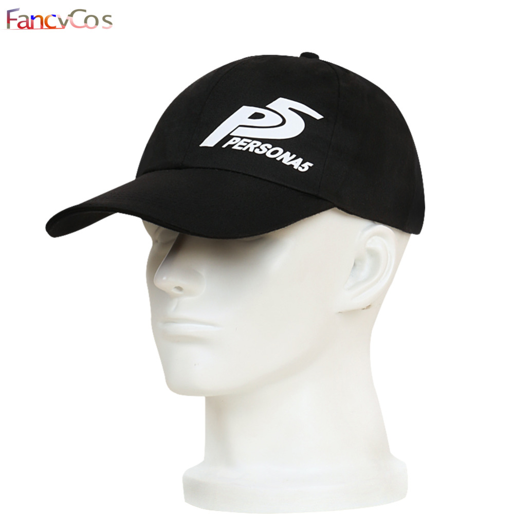 Halloween 2017 New Spring Summer Persona 5 Joker Costume Adult Kids Boy Baseball Trucker Caps Cosplay