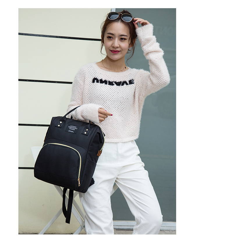 HTB15uHeXq5s3KVjSZFNq6AD3FXa6 Multi-Function Mummy Maternity Nappy Bag Fashion Patchwork Large Capacity Baby Bag Travel Backpack Nursing Bag for Mom Designer