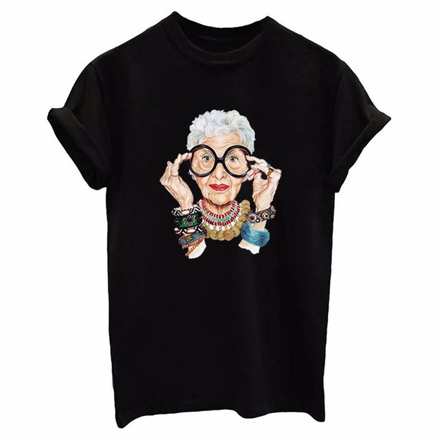 Women'S Shirt Old Couple...