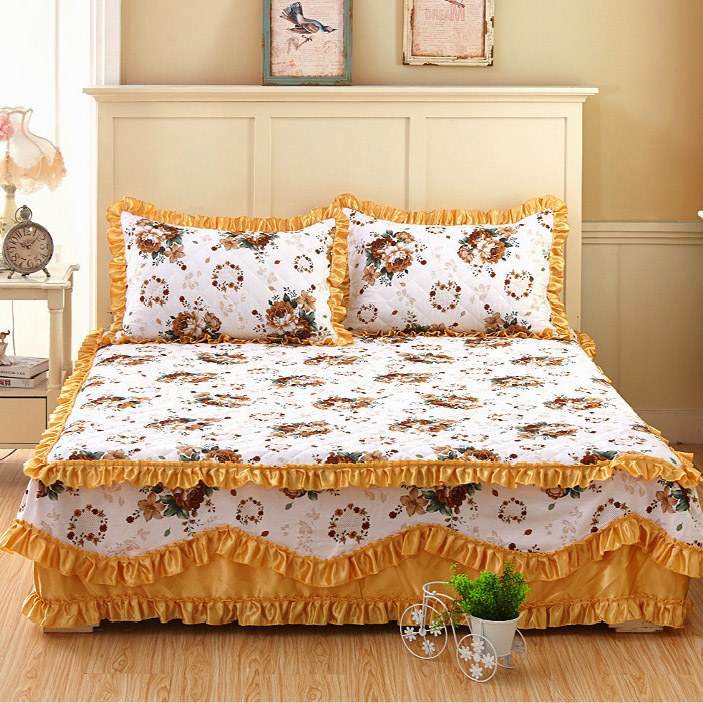 bed sheet set with two pillowcase,bedding set super king,Cotton ...