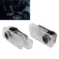 2 PCS Projetor Do Logotipo Do Laser Porta Sob Puddle Luzes de Boas Vindas Para Audi Q7 2006-2014, Q5 2010-2014