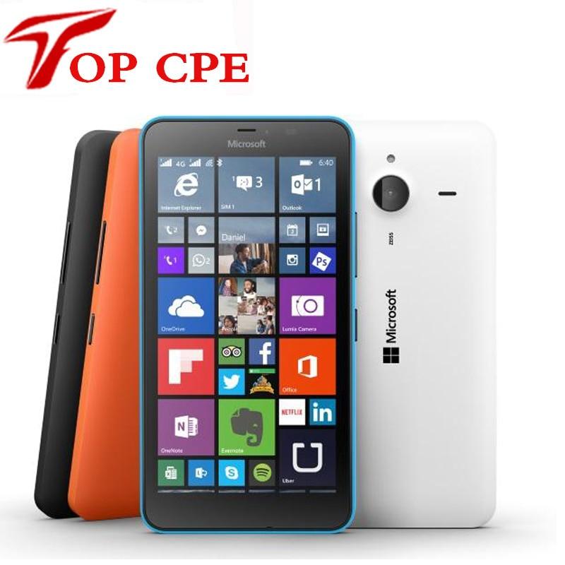 bilder für Original Nokia Microsoft Lumia 640XL Quad-core 8 GB ROM 1 GB RAM handy 4G WIFI GPS 13MP 1080 P Kamera Refurbished handy telefon