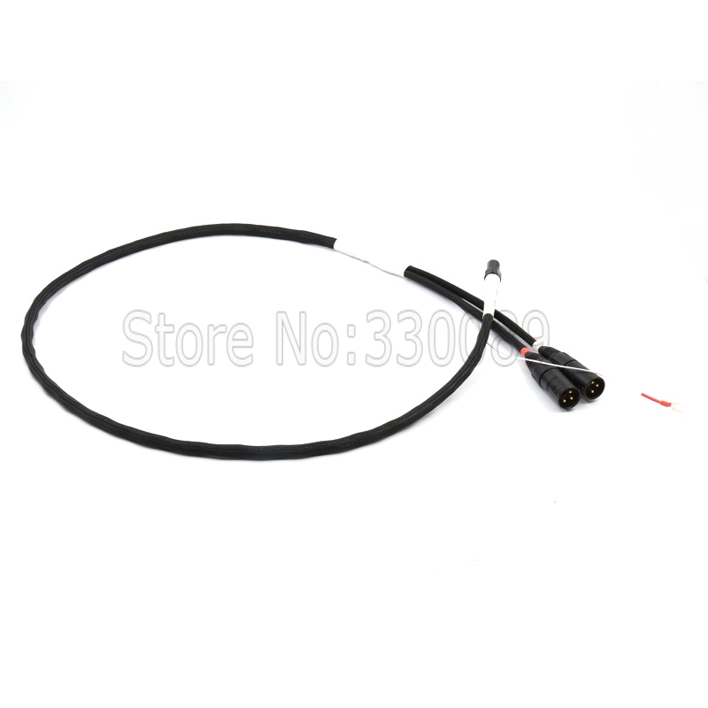Free shipping pieces PCOCC silver plated Tonarm Cable 5 Pin DIN to XLR MaleTurntables Analog Cable with Cardas avr sx460 5 pieces sx460 free shipping
