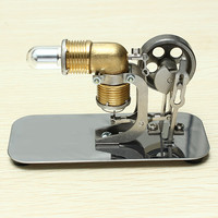 Mini Hot Air Stirling Engine Motor Model Educational Toy Kits Model Toys For Children