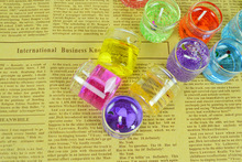 Fashion Romantic Glass Jelly Candles for Wedding Decorations Mini Love Scented Candles Gel Wax Party Wedding Tea Light Candles