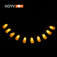 LED Rubber Snowman Light String 2 m Family Party Home Shop Christmas Tree Decoration