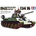 OHS Tamiya 35059 1/35 Russo Tanque T34/76 1943 Montagem Militar AFV Kits Modelo de Construção