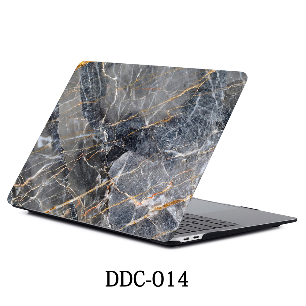 New 3D printing marble Laptop Case For Apple MacBook Air Pro Retina 11 12 13.3 15.4 inch with Touch Bar shell +Keypad Cover